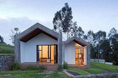 Compact en duurzaam wonen in huizen gebouwd van gecomprimeerd afval   | roomed.nl