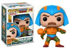 Funko POP! Master of the Universe MAN AT ARMS 538 Vinyl Figure #funko #funkopop #motu #vinyl #figure