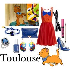 Toulouse, created by princess13corazon on Polyvore