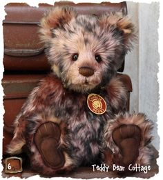 Charlie Bear Ashley Teddy Bear Cottage - Collectable Charlie Bears