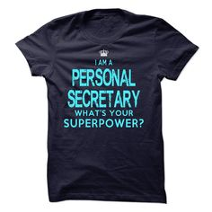 #Funnyt-shirts... Cool T-shirts  Price :$23.00Purchase Now  Low cost Codes View photographs & photographs of I am a Personal Secretary t-shirts & hoodies:When you don't completely love our design, you possibly can SEARCH your favourite one through the use of...