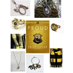 """""""Hufflepuff- HP"""" by three-doors-down on Polyvore"""