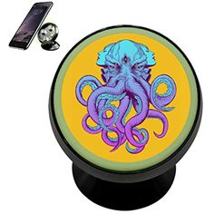 Se50K Yellow Electric Octopus Vehicle Phone Mount Magnetic Phone Car Bracket Holder Noctilucent Mobile Rotating Universal Cellphone iPhone Kit Gadget *** Click image to review more details. (This is an affiliate link) Phone Mount, Car Accessories, Octopus, Vehicle, Gadgets, Electric, Kit, Iphone, Yellow