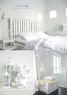 use pallets to make this headboard