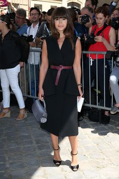 Miroslava Duma is one of my style icons and demonstrates how to #BYOE while looking effortlessly chic. Keep it simple, fitted, and fabulous!!