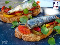 Bruschetas de Sardinha e Pimentos | Receitas | Grupo Freitasmar