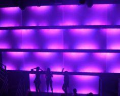 Night Club LED Lighting, Diesel Pittsburgh -Philips Color Kinetics photo : idesign