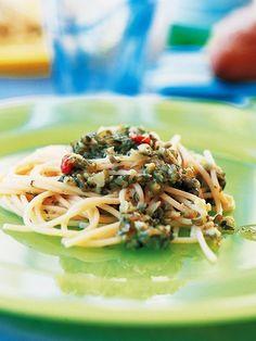 【ELLE a table】漬け物のスパゲッティレシピ|エル・オンライン