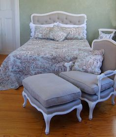 French Country Toile Bedding | Interiors french provincial furniture french country furniture french ...