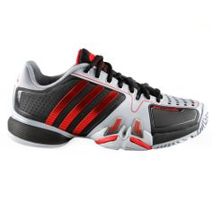 adidas Tennis Shoes Novak Djokovic adipower Barricade Men black/grey