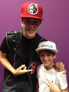Omg...they look even cuter together Austin is mine and Matty is mine too