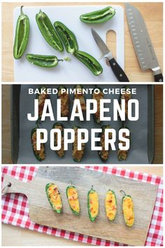 These baked jalapeño poppers, stuffed with southern-style pimento cheese, are ready in less than 15 minutes. The spicy, bite-sized poppers make a great party appetizer or side served with burgers, grilled food or your favorite Mexican dishes. You can use store-bought pimento cheese, but to kick up the flavor, try them with homemade pimento cheese. Get the recipe for the poppers and the pimento cheese here.
