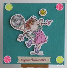 Tampon Lili of the valley tennis