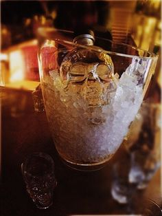 Chill your Crystal Head for a luxurious experience! Photography by Marialenator