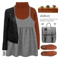 """""""Yoins // Hiding Place"""" by ritaflagy ❤ liked on Polyvore featuring SELECTED, Retrò and yoins"""