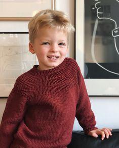 Ankers Sweater pattern by PetiteKnit