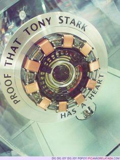 Tony Stark's Heart