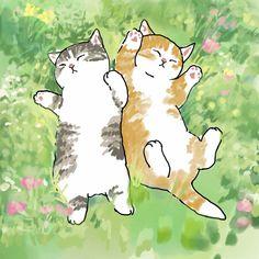 Illustration Mignonne, Art Et Illustration, Cute Animal Illustration, Art Illustrations, Animes Wallpapers, Cute Wallpapers, Pretty Art, Cute Art, Bel Art