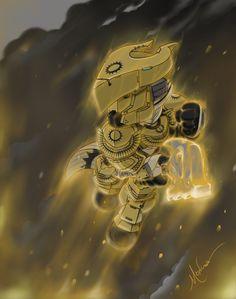 Brian Moncus Destiny Trials of Osiris Titan Sunbreaker Art