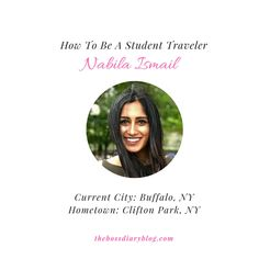 Nabila has traveled to more than 25 countries and has no plans of stopping anytime soon! Get to know this Student Traveler...