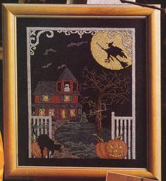 Cross stitch haunted house https://www.etsy.com/listing/163536779/counted-cross-stitch-halloween-haunted