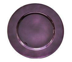 120 New Purple Charger Plates Chargers Plum Eggplant Free Shipping