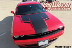 2015-17 Challenger Solid Hood Stripe