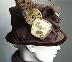Now this is a hat to die for! - clock fantasy