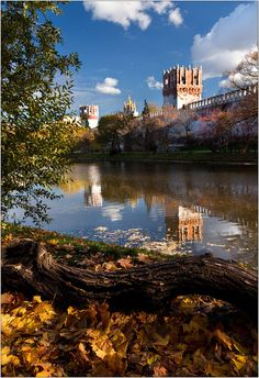 Autumn in Novodevichy Convent, Moscow
