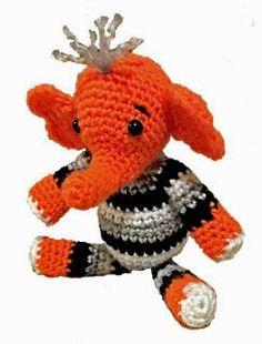 30 Best Free Amigurumi Elephant Patterns images in 2017   Crochet