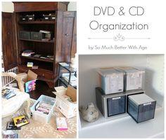 CD and DVD Organization