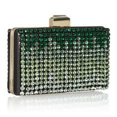 Lanvin Crystal-Embellished Satin-Covered Metal Frame Clutch | More colourful lusciousness here: http://mylusciouslife.com/photo-galleries/a-colourful-life-colours-patterns-and-textiles/