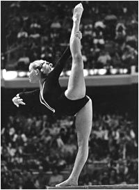 Cathy Rigby, US Olympic Gymnast, Gold Medalist