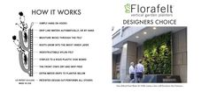 Florafelt Living Wall Planters | How It Works