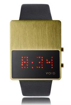 The most stylistically interesting modern watch brands: Void.