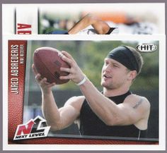 WISCONSIN LOT OF 2 2014 SAGE HIT JARED ABBREDERIS RC 1 REGULAR ISSUE 1NEXT LEVEL