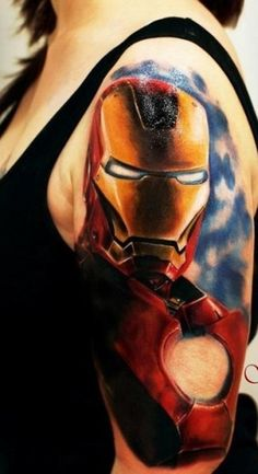 Best Ironman Tattoos Designs and Ideas6-008
