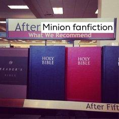 Wait...minion fanfic???! Oh holy.