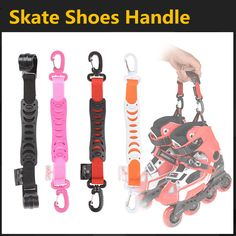 [スケートフック]良い品質ナイロンインラインローラースケートハンドルバックルフック、用seba powerslide rbスケートシューズpatins