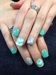Desa's nails. Gel nail art.