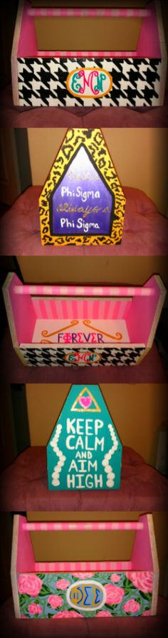 Craft Room: Super awesome sorority crafts