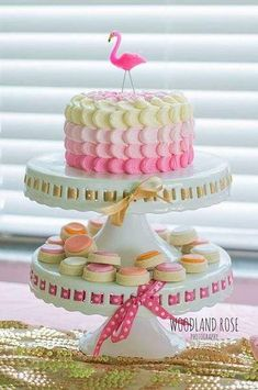 Birthday Party Options – Creative Birthday Party Ideas That Works Pink Flamingo Party, Flamingo Cake, Flamingo Birthday, Pink Flamingos, Luau Party, Cakes And More, Cake Smash, Party Cakes, Amazing Cakes