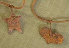 Factory Direct Craft Set of 3-6ft Rusted Metal Garland with 10 Primitive Stars-18 Total Ft. -- See this awesome image @