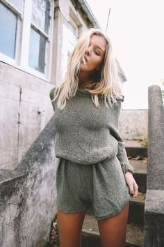 Shipwreck Knit Playsuit – Style Addict