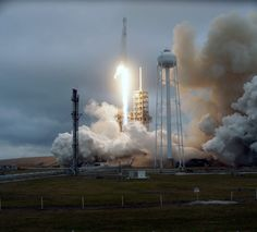 A SpaceX Falcon 9 rocket lifts off from Launch Complex 39A at NASA's Kennedy Space Center in Florida. This is the company's 10th commercial resupply services mission to the International Space Station. Liftoff was at 9:39 a.m. EST from the historic launch site now operated by SpaceX under a property agreement with NASA.