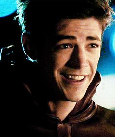 Grant Gustin as The Flash - couldn't be anymore adorable!!