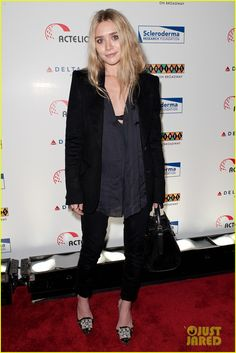 Ashley Olsen shows love for her former Full House co-star, Bob Saget, at the Cool Comedy - Hot Cuisine Gala, held on Monday (November 7) at Carolines On Broadway…