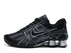 NIKE SHOX | Nike Shox -Turbo12 Men White Black Red Shoes