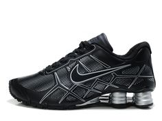 separation shoes 7331e f49d7 Our Online Shop Offers You A Wide Choice Of Designs Nike Shox -Turbo12 Men  Black Silver Shoes Shop