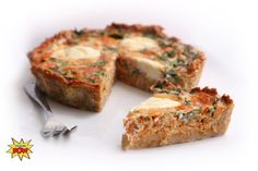 You can't go wrong with quiche, or with the protein crust that's the star of this low-carb dish! Not only is it a great way to eat your eggs, it's also a great vehicle to transport the rest of your meal from plate to palate.